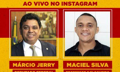 LIVE BMS: BLOGUEIRO MACIEL SILVA ENTREVISTA O DEPUTADO FEDERAL MÁRCIO JERRY