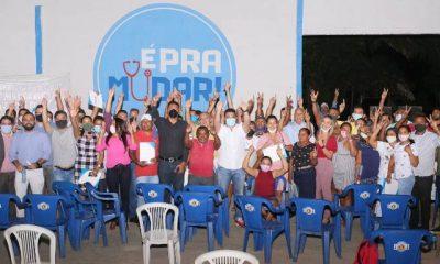 """EM PERITORÓ-MA, PRÉ-CANDIDATOS E LIDERANÇAS PARTICIPAM DO """"DISCUTIR PARA MUDAR"""""""