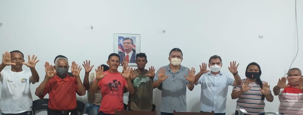 Mávio Rocha cumpre agenda no interior do Maranhão