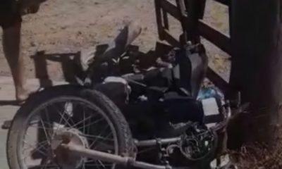 EM SÃO JOSÉ DOS BASÍLIOS-MA, HOMEM MORRE EM COLISÃO ENTRE CARRO E MOTO
