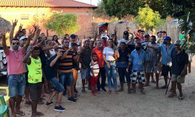 CRISTIANE DO AGAMENON INTENSIFICA PRÉ-CAMPANHA NA ZONA RURAL DO MUNICÍPIO