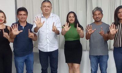 SONALDO PIANCÓ, PRÉ-CANDIDATO A PREFEITO DE SÃO MATEUS, CUMPRE AGENDA POLÍTICA EM SÃO LUÍS-MA