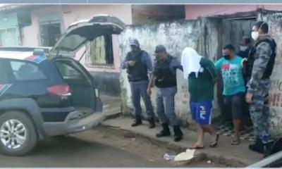 Homem é preso após manter companheira como refém no MA