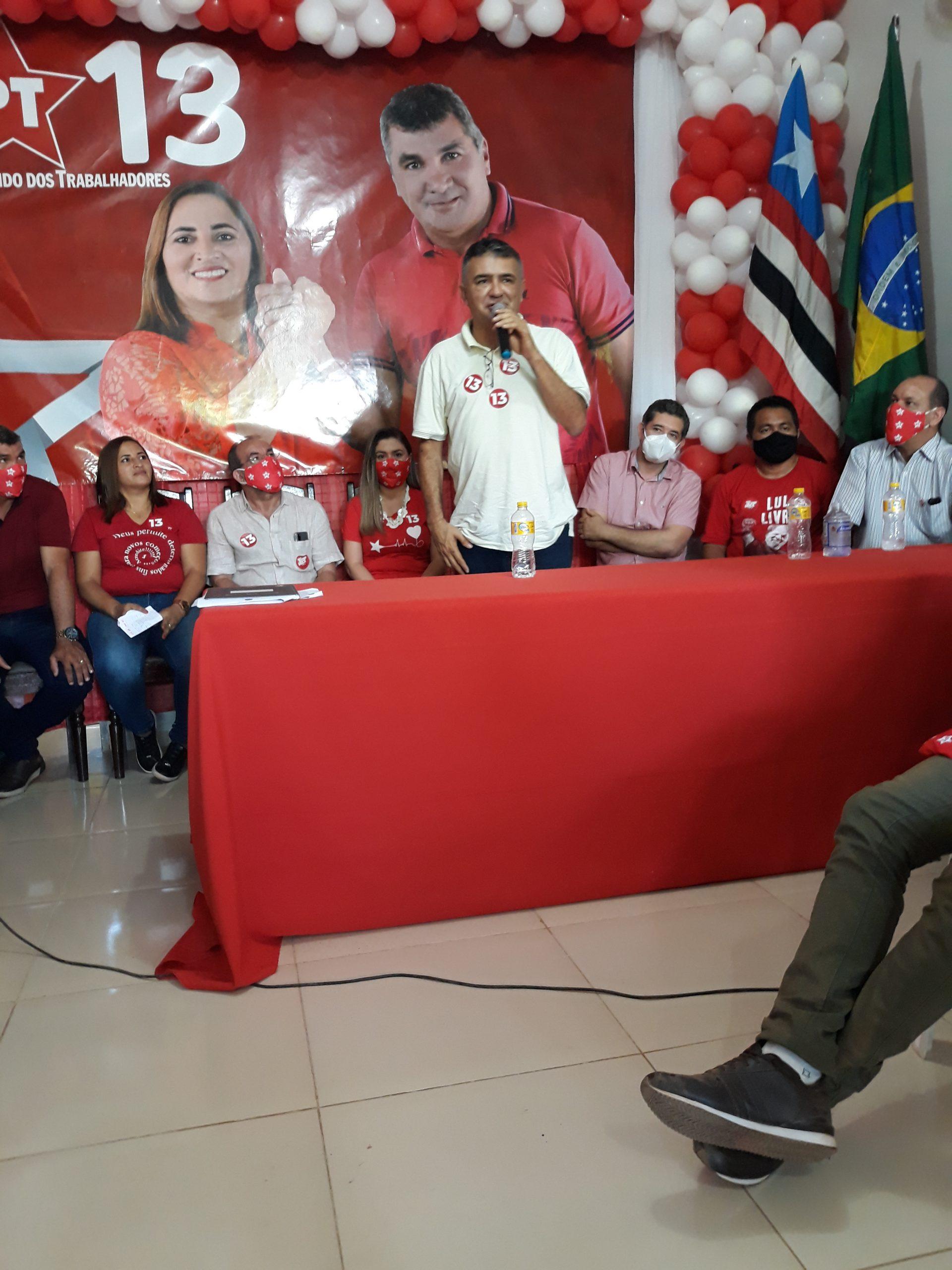 EM BERNARDO DO MEARIM-MA, CONVENÇÃO CONFIRMA LÉIA PEREIRA COMO CANDIDATA A PREFEITA