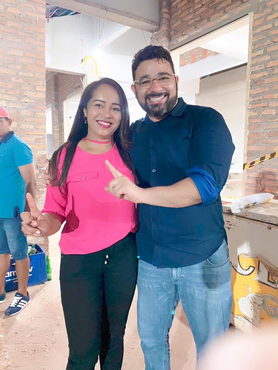 EM PERITORÓ-MA, ROSA PEREIRA TEM CANDIDATURA A VEREADORA HOMOLOGADA DURANTE CONVENÇÃO