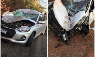 Quatro jovens morrem em grave acidente na BR-010 entre Porto Franco e Campestre