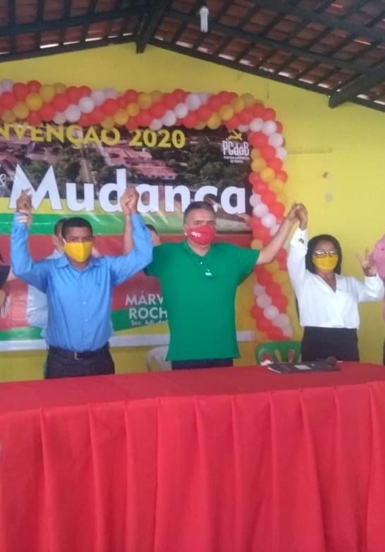 MÁVIO ROCHA PARTICIPA DE TRÊS CONVENÇÕES NO INTERIOR DO MARANHÃO
