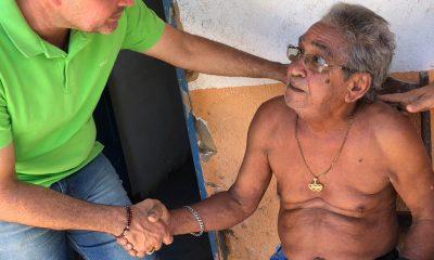 ESTEVINHO VISITA DOIS POVOADOS DO MUNICÍPIO DE LIMA CAMPOS-MA