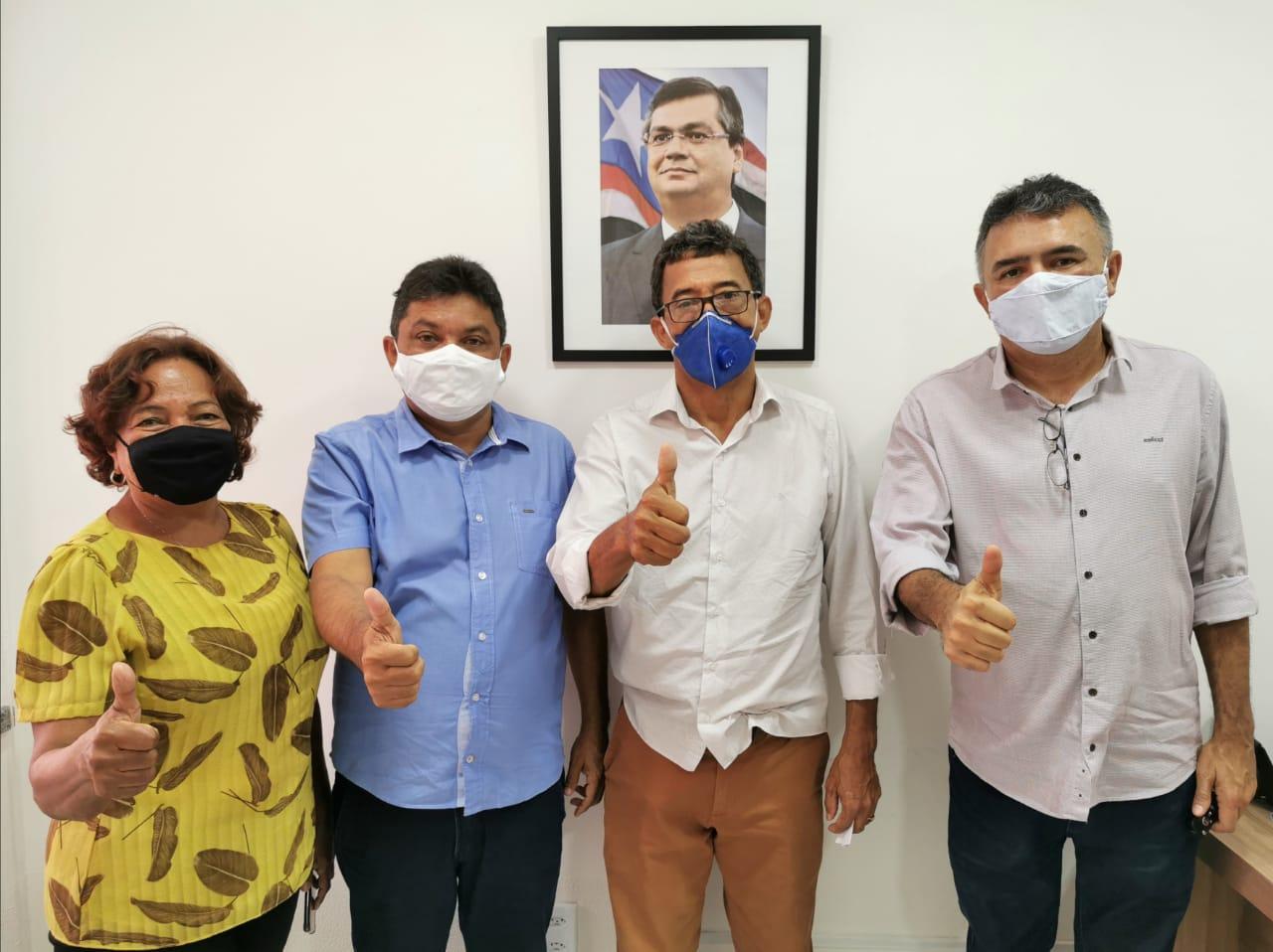 Zezé Nunes, Márcio Jerry, Enoc Lopes e Mávio Rocha