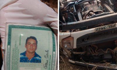 CAMINHONEIRO MORRE EM ACIDENTE NA MA-020