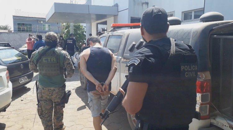 Operação Policial prende 11 suspeitos por tráfico de drogas em Dom Pedro-MA