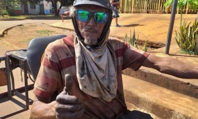 'Motoqueiro Fantasma' aparece como candidato a vereador no interior do Maranhão