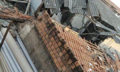 Vídeo: bandidos explodem e destroem agência do Banco do Brasil no Maranhão, mas não conseguem levar dinheiro