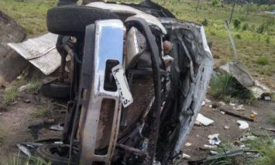Caminhão que transportava peixes capota na BR 316/MA e condutor de 37 anos morre