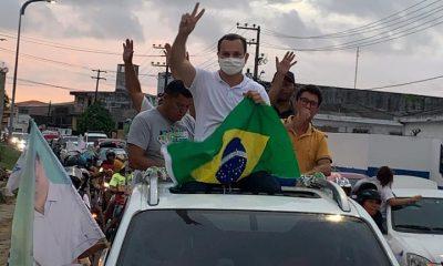 Umbelino Junior realiza carreata em São Luís e recebe apoio da população