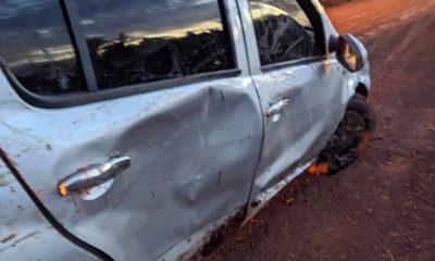 Jovens saem ilesos em acidente de carro na zona rural de Coroatá