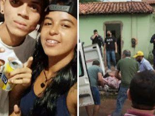 Um jovem identificado comoLeonardo dosSantosSilva, 19 anos, e uma outra jovem que não teve a identidade revelada foram mortos a tiros por volta das 17h30min