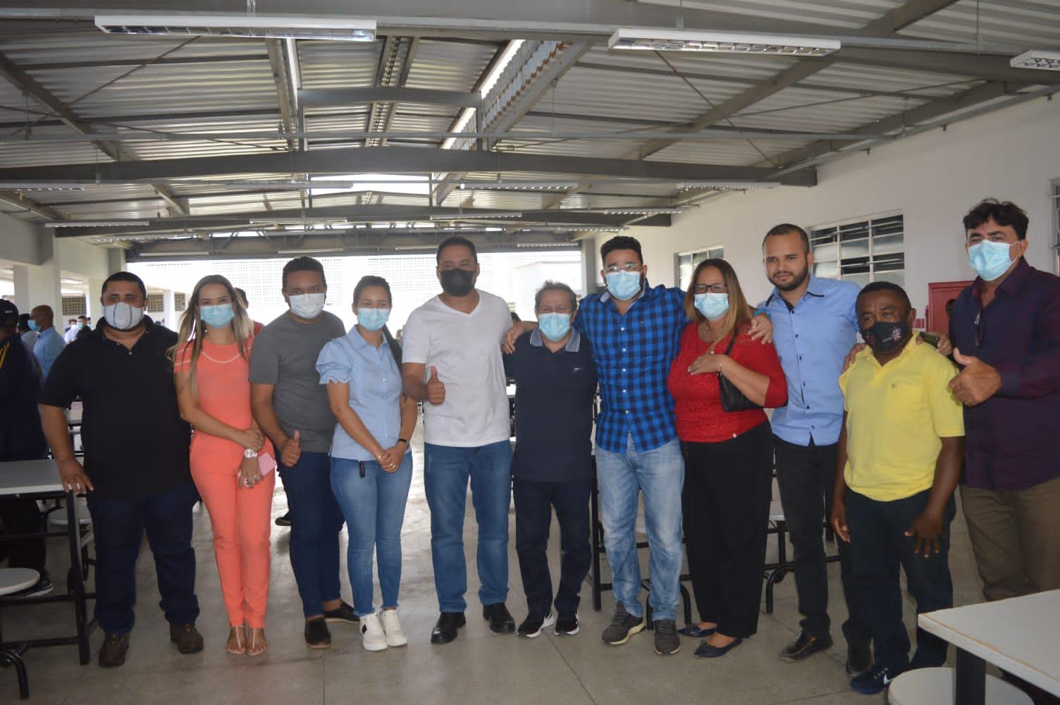 Na manhã de sábado, 24 de julho, vereadores da Câmara Municipal de Peritoró-MA, participaram da inauguração da Unidade Plena do Instituto Estadual de Educação, Ciência e Tecnologia do Maranhão (IEMA) de Coroatá.