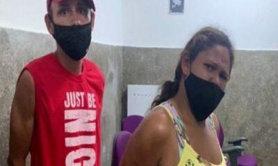 Um casal foi preso em flagrante nesse domingo (1°), na Vila Vitória, região do bairro Cruzeiro de Santa Bárbara, em São Luís