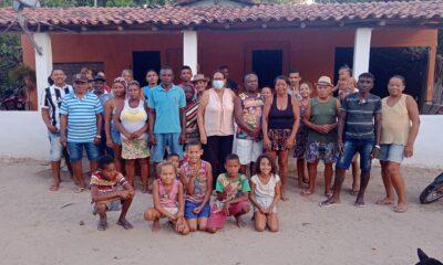 A convite do vice-presidente Aldair José, Dona Lurdes, vereadora e presidente da Câmara de vereadores de Peritoró-MA, visitou o Povoado Passa Bem