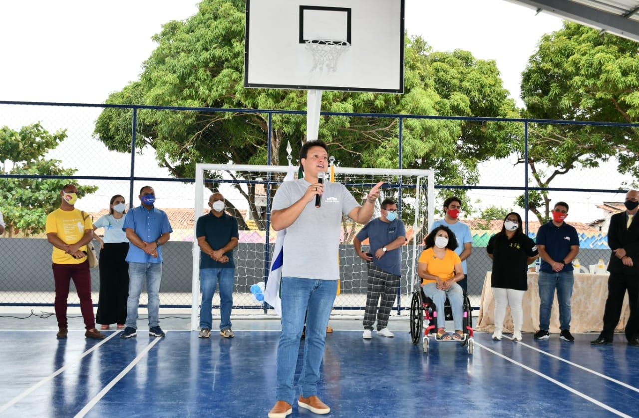 Felipe Camarão destaca a determinação do governo Flávio Dino pela transformação da educação no Maranhão.