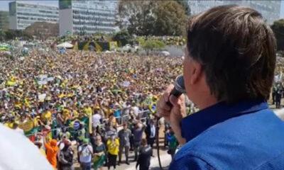 """Bolsonaro ameaça dar golpe: STF """"pode sofrer aquilo que não queremos"""