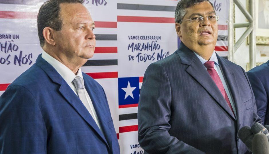Flávio Dino (PSB), voltou a mencionar sua pretensão de deixar mesmo o governo em abril
